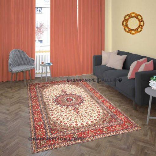 قالیچه گلریز لچک ترنج