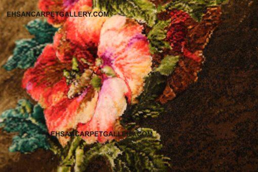 تابلو فرش شاخه گل برجسته